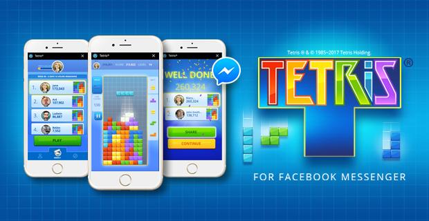 CoolGames brings Tetris® to Instant Games for Messenger